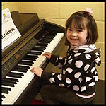Student at the Piano
